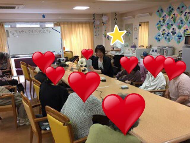 高齢者向けクイズ・前田就喬さん(1):「物事を思い出し、指を動かし、声を出して回答し、注目を浴び、称賛される……という一連の身体と心を刺激させる流れ=クイズ」